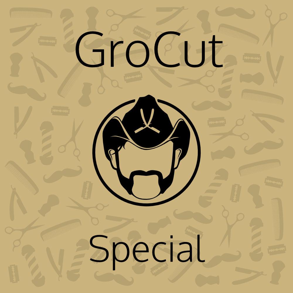 Tuotekuva: GroCut Special – hiustenleikkaus (45min)
