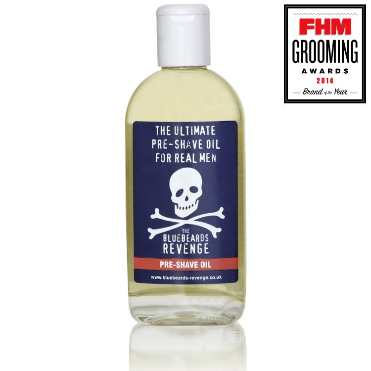 Tuotekuva: Pre-Shave Oil parranajoöljy – The Bluebeards Revenge (125 ml)
