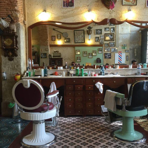 Testissä Figaro´s Barbershop