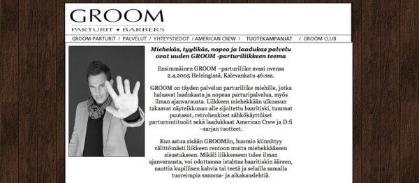 GROOMin tarina