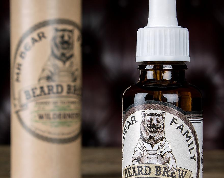 Tuotekuva: Mr Bear Family Wilderness – partaöljy (30 ml)