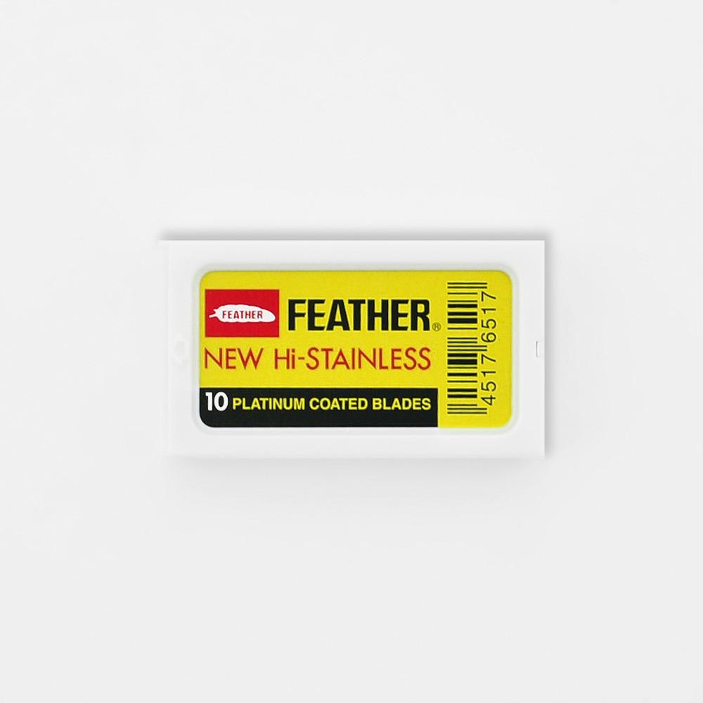 Tuotekuva: Feather Double Edge partaterät (10 kpl)