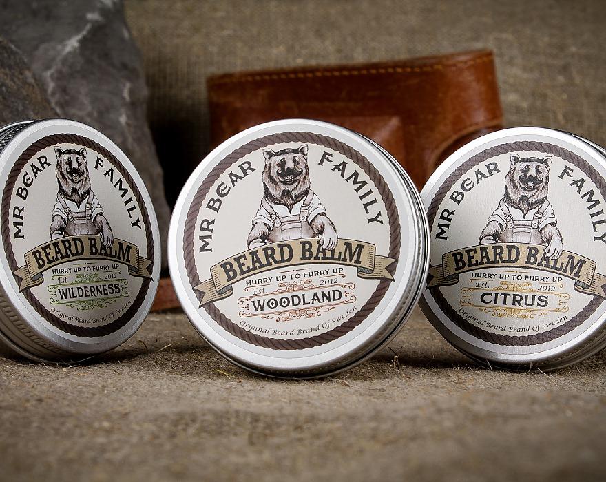 Tuotekuva: Mr Bear Family partavoide Woodland (60 ml)