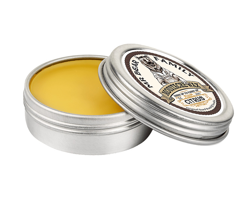 Tuotekuva: Mr Bear Family viiksivaha Citrus (30 ml)