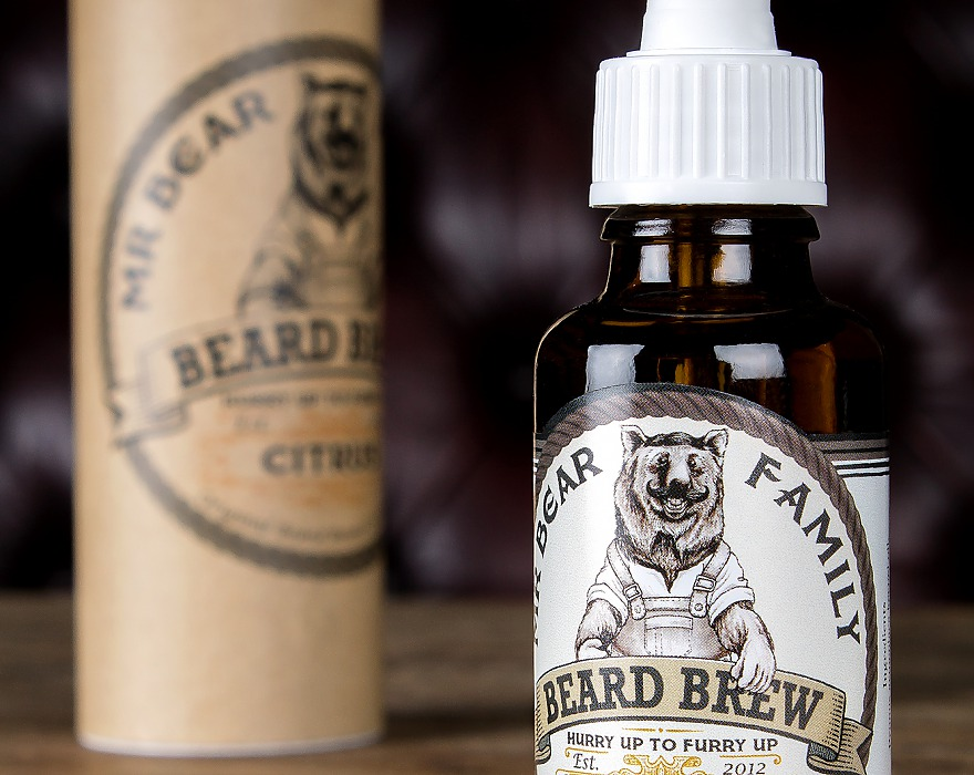 Tuotekuva: Mr Bear Family Citrus partaöljy (30 ml)