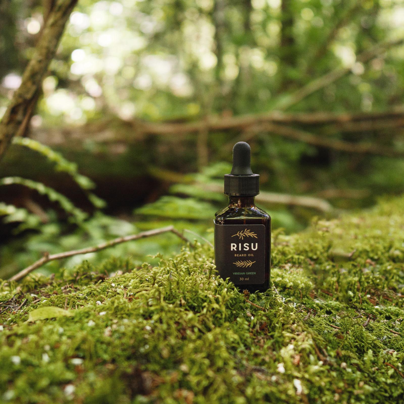 Tuotekuva: Risu Viridian Green – partaöljy (30 ml)