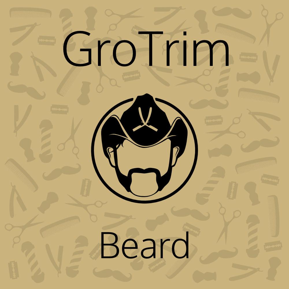 Tuotekuva: GroTrim Beard – Parran ja viiksien muotoilu