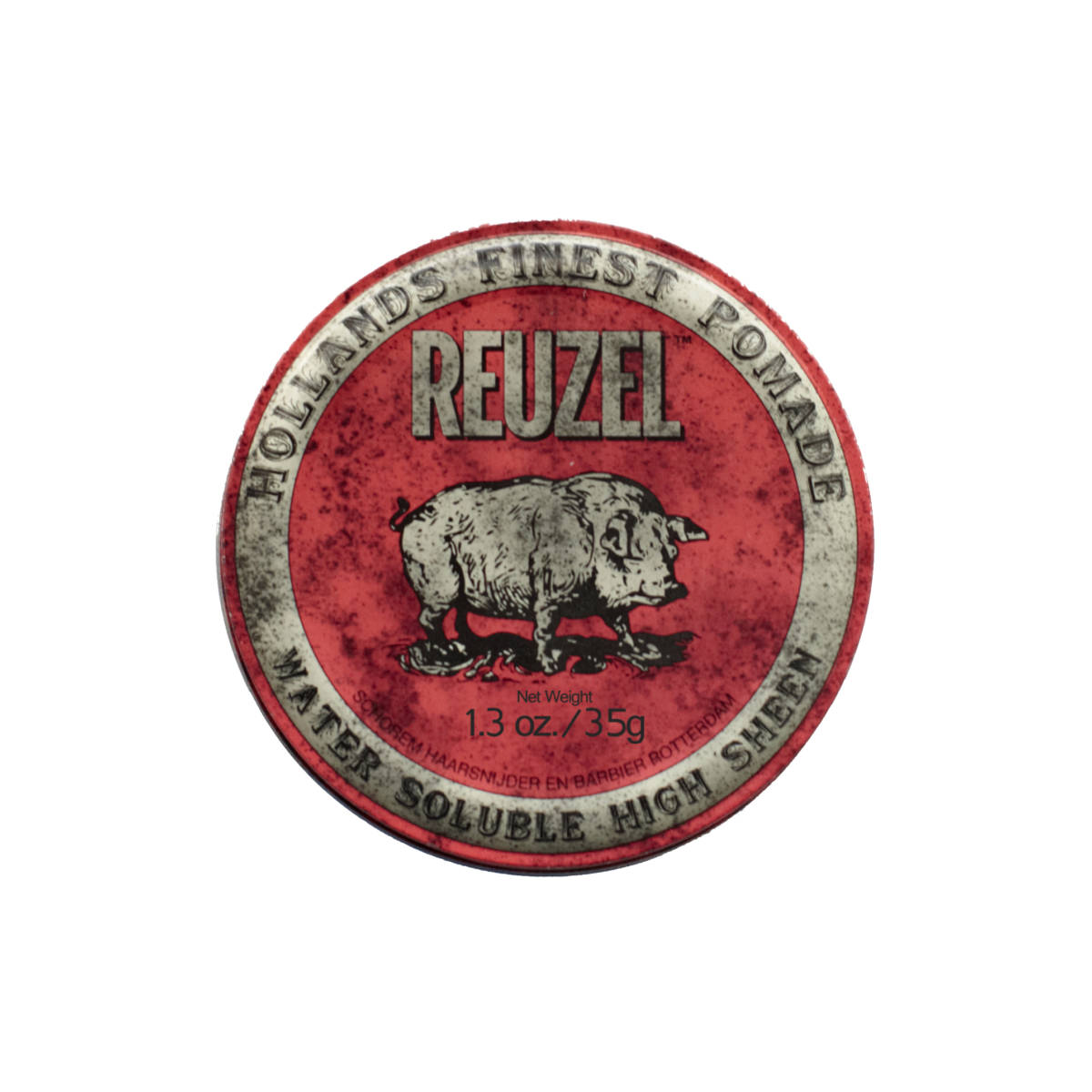 Tuotekuva: Reuzel Red – Water Soluble High Sheen Pomade (35 g) matkakoko