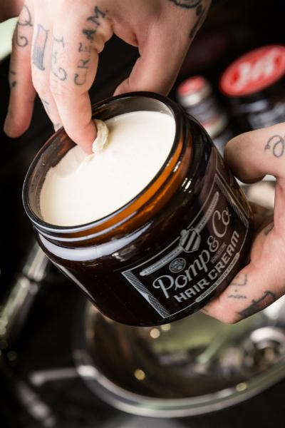 Tuotekuva: Pomp&Co. Hair Cream -hiusvaha (120ml)