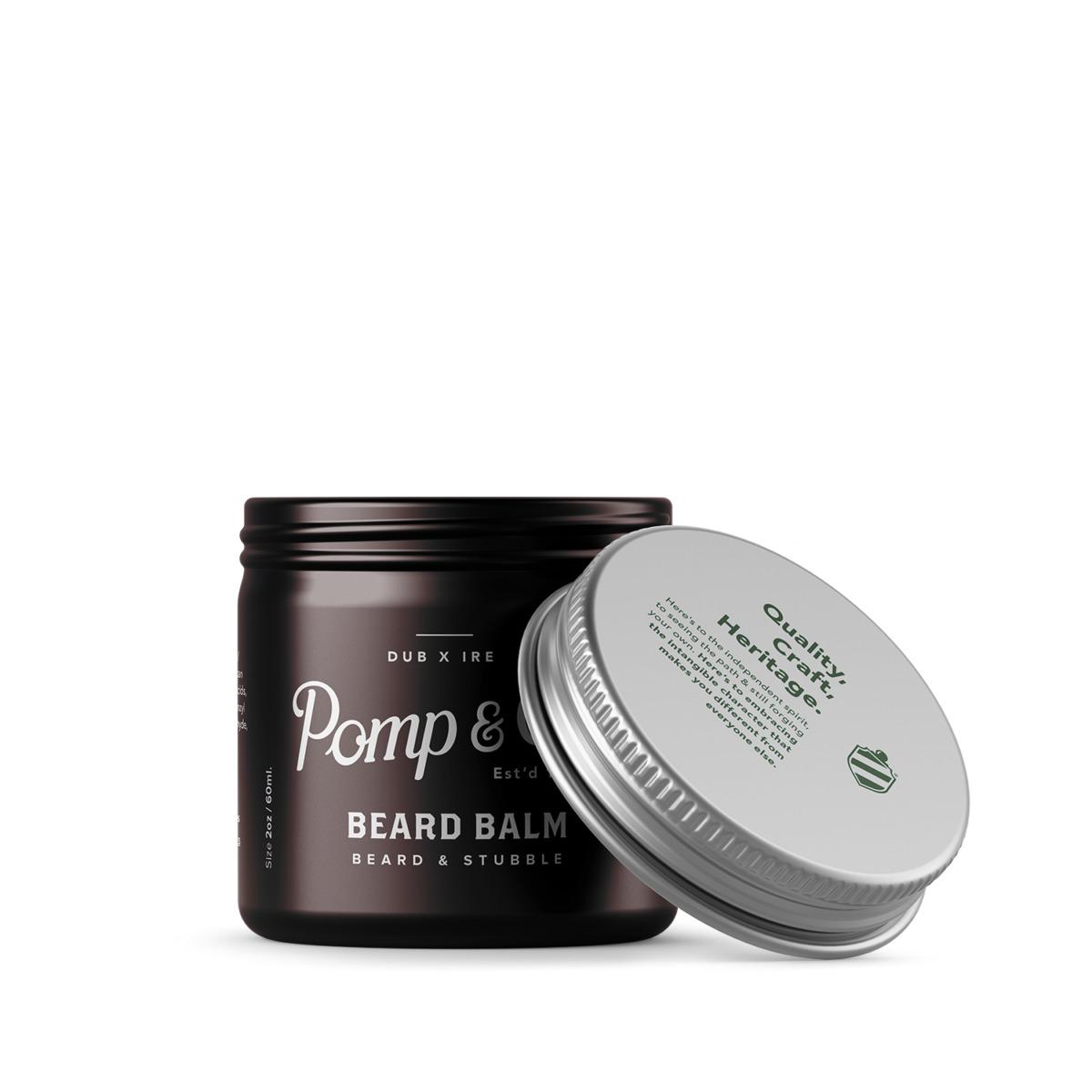 Tuotekuva: Pomp&Co. Beard Balm -partavoide (60ml)