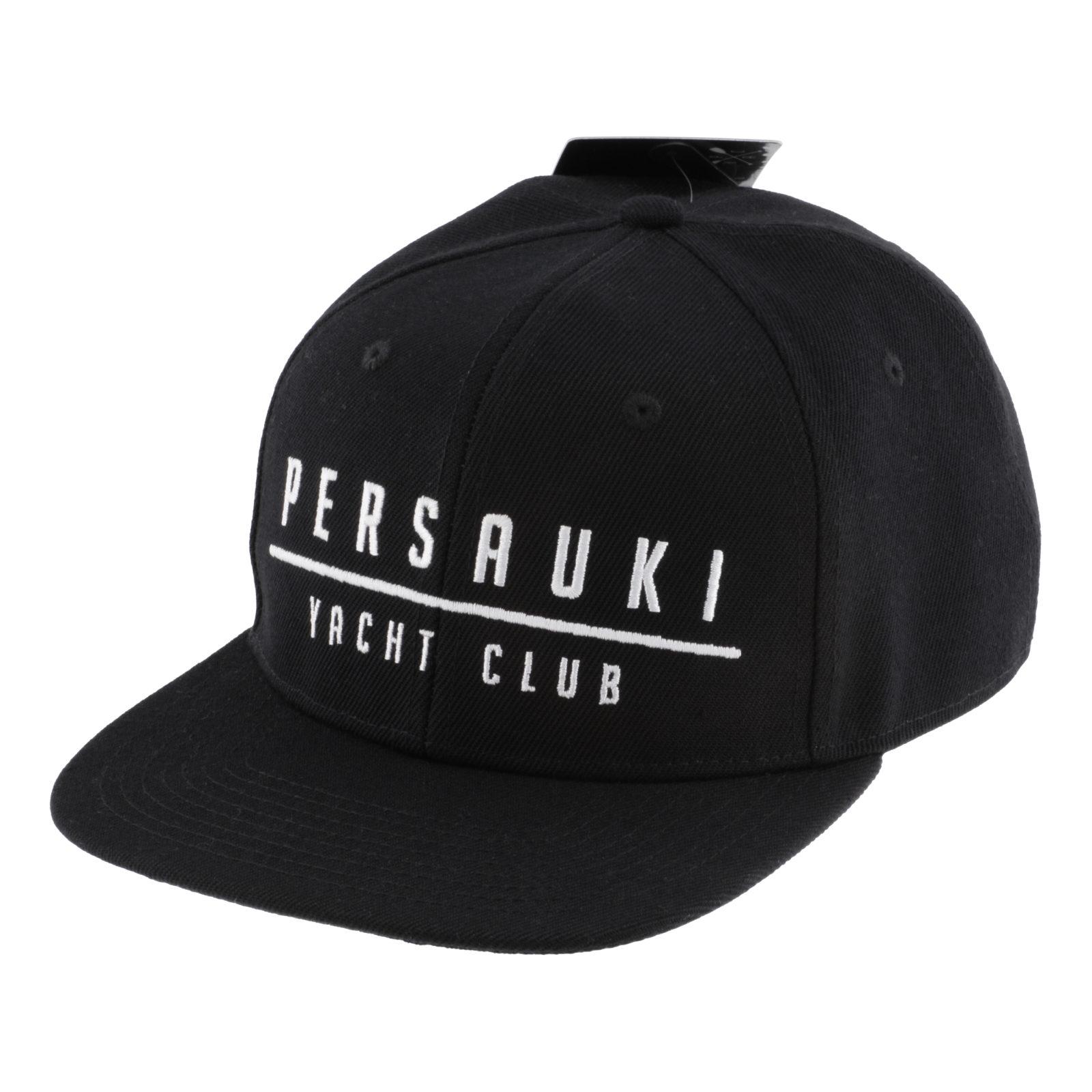 Tuotekuva: Persauki Yacht Club – Musta Snapback lippis