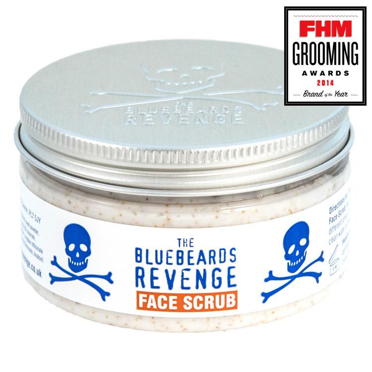 Tuotekuva: The Bluebeards Revenge Face Scrub 100ml – kuorinta kasvoille