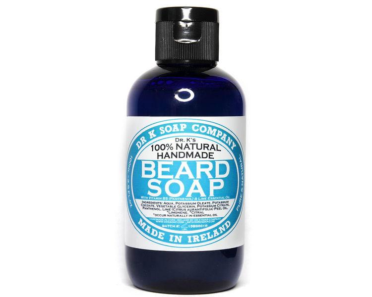 Tuotekuva: Dr K Soap Company Beard Soap Fresh Lime -partasaippua (100ml)