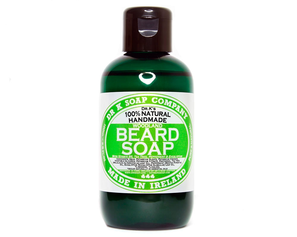Tuotekuva: Dr K Soap Company Beard Soap Woodland -partasaippua (100ml)