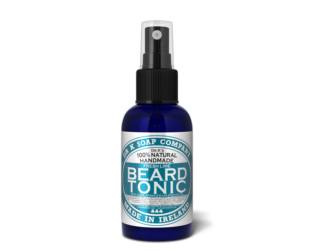 Tuotekuva: Dr K Soap Company Beard Tonic Fresh Lime -partaöljy (50ml)