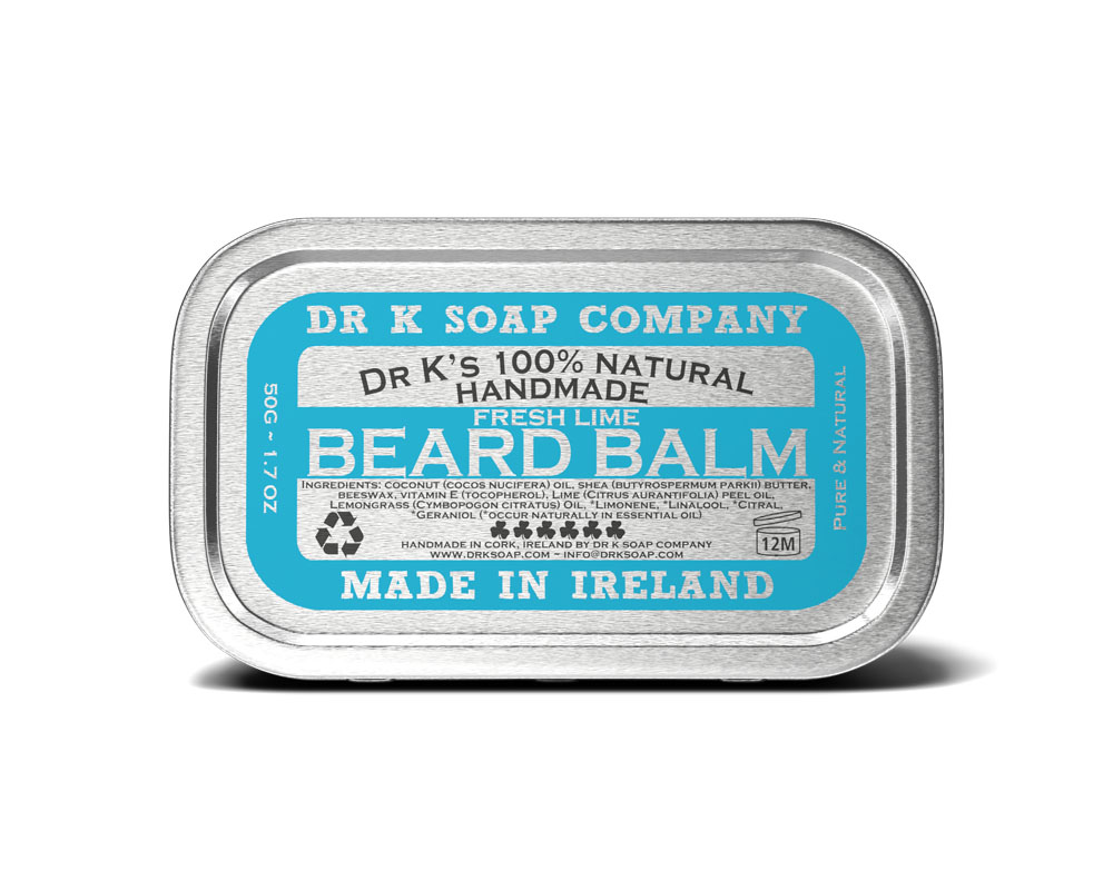 Tuotekuva: Dr K Soap Company Beard Balm Fresh Lime -partavaha (50g)