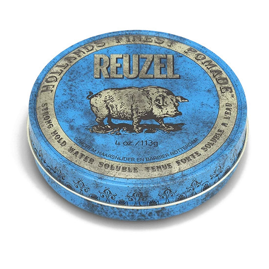 Tuotekuva: Reuzel Blue – Strong Hold High Sheen pomade (113g)
