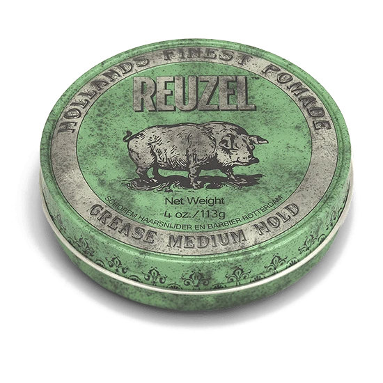Tuotekuva: Reuzel Green – Medium Hold Grease Pomade (113 g)