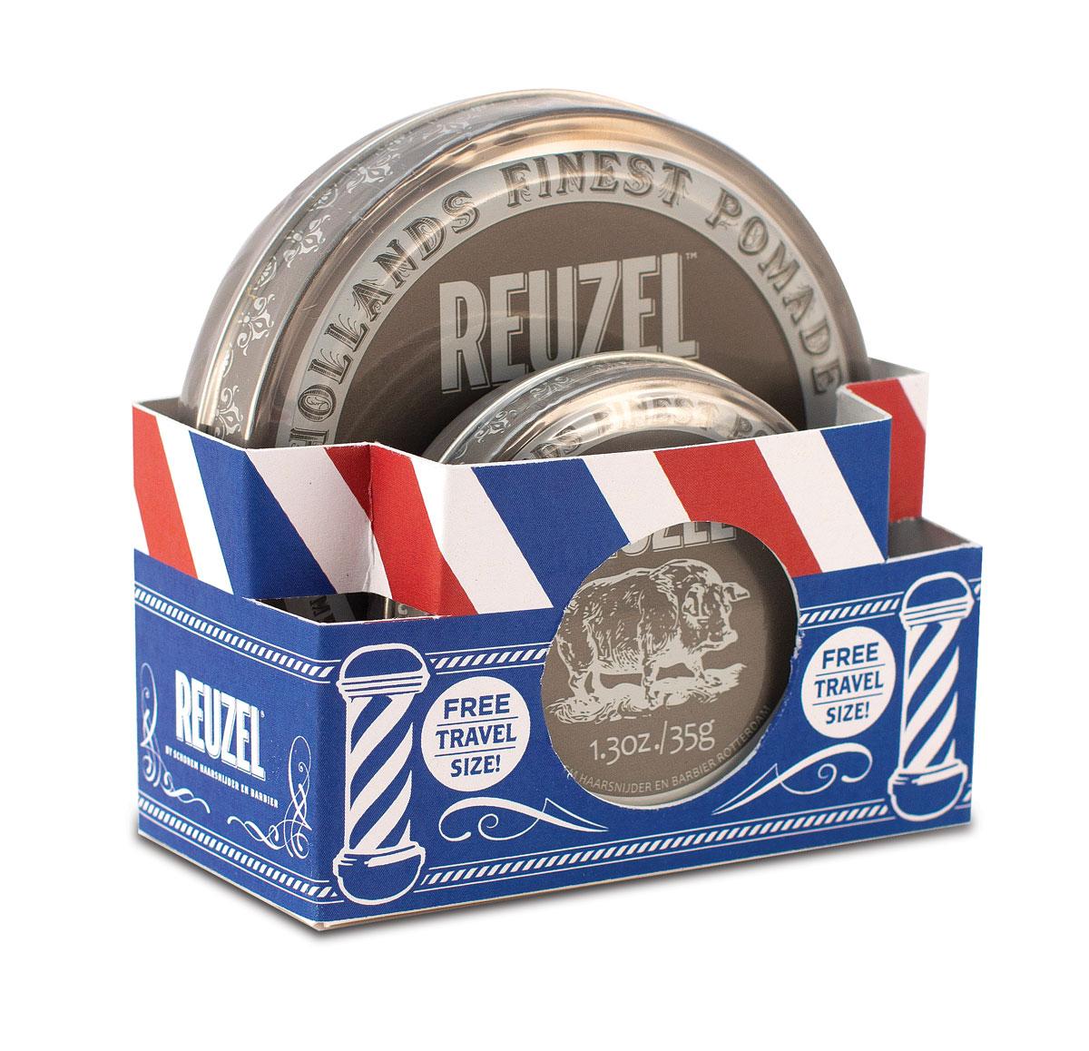 Tuotekuva: Reuzel Grey Extreme Hold Pomade -lahjapakkaus (113g + 35g)