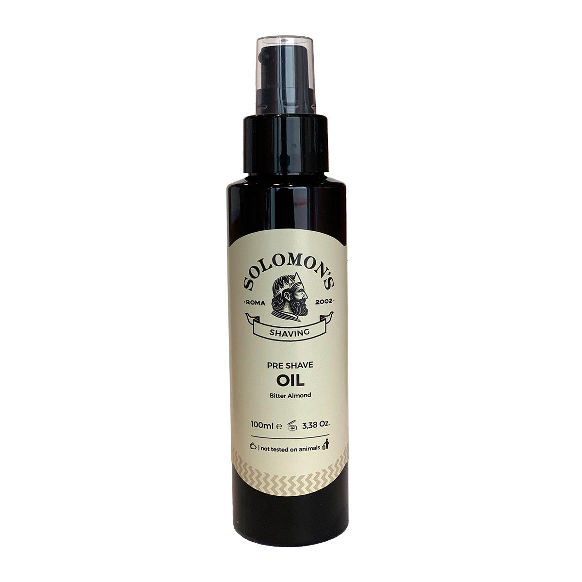 Tuotekuva: Solomon's Beard Bitter Almond -parranajoöljy (100 ml)