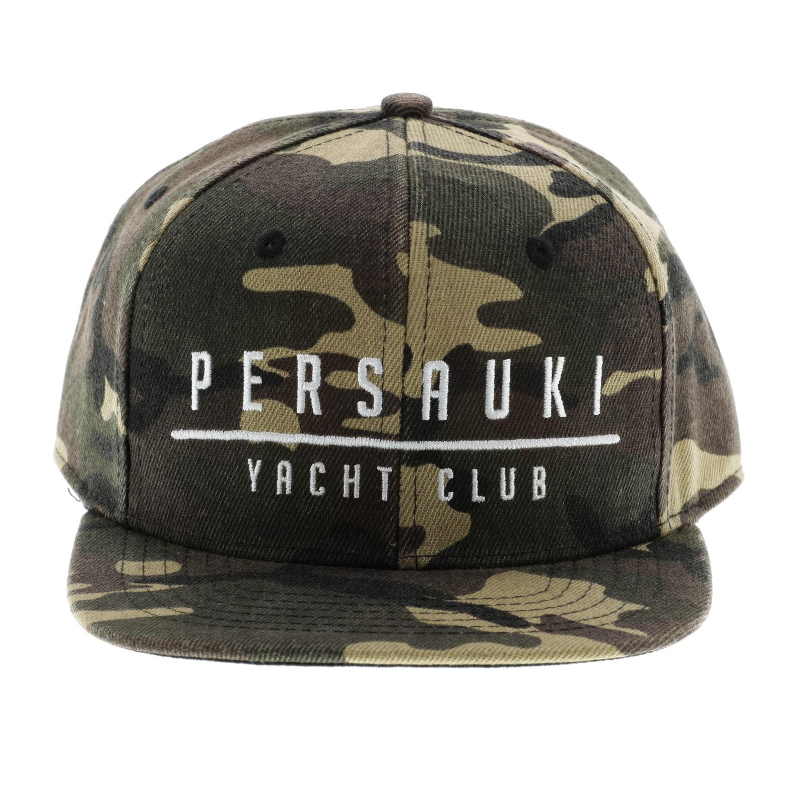Tuotekuva: Persauki Yacht Club – Camo Snapback lippis