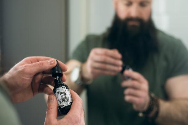 Parranhoito haltuun – Solomon´s Beard parranhoitorituaali