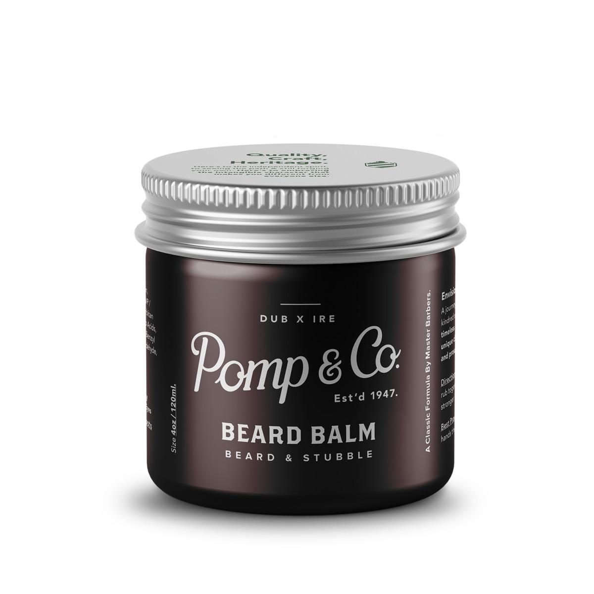 Tuotekuva: Pomp&Co. Beard Balm -partavoide (120ml)