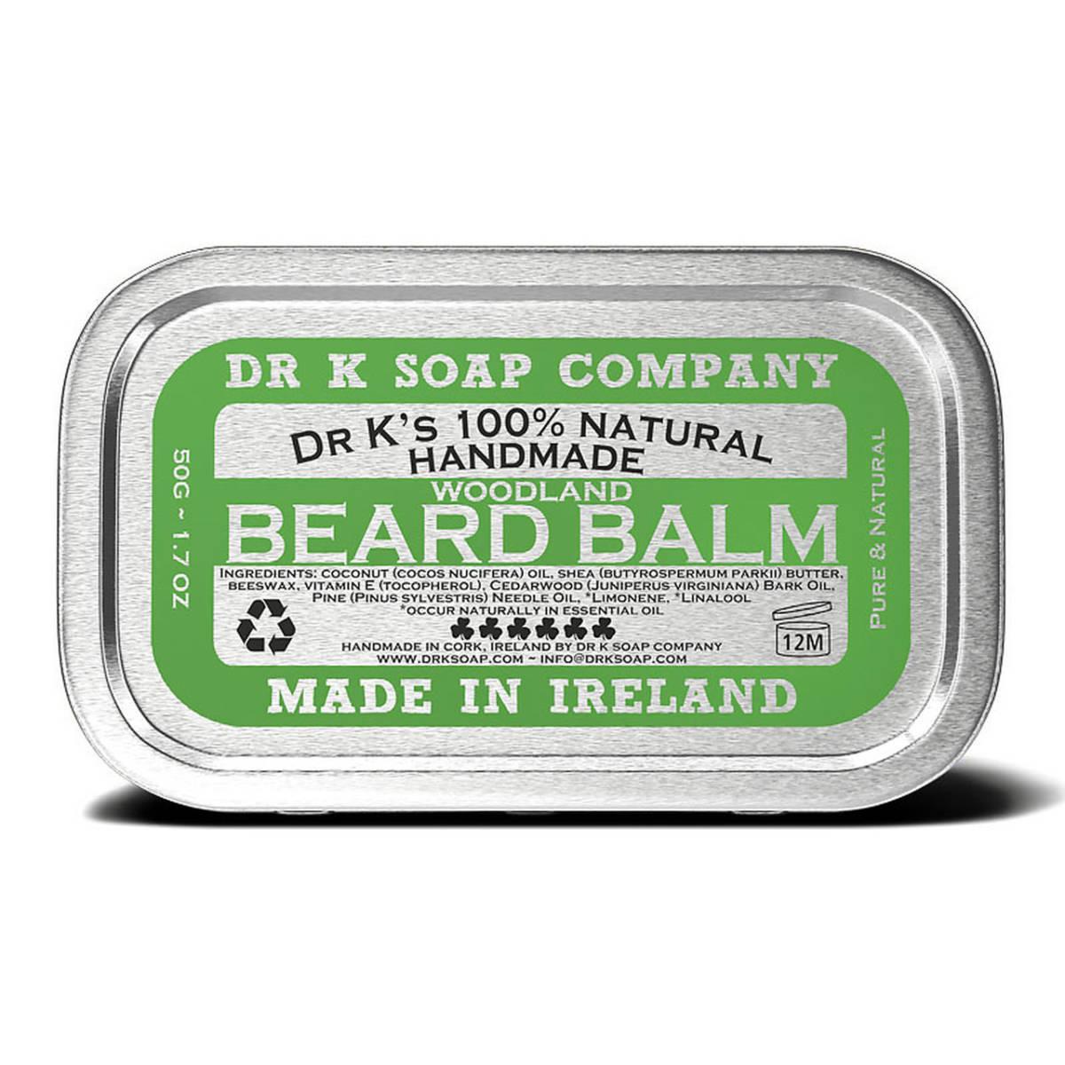 Tuotekuva: Dr K Soap Company Beard Balm Woodland -partavaha (50g)