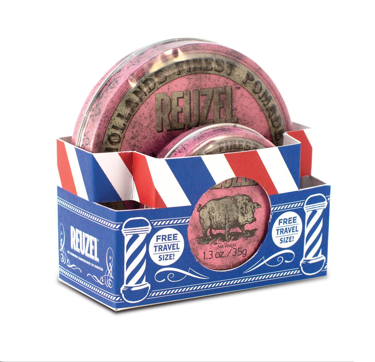 Tuotekuva: Reuzel Pink Pomade -lahjapakkaus (113g + 35g)