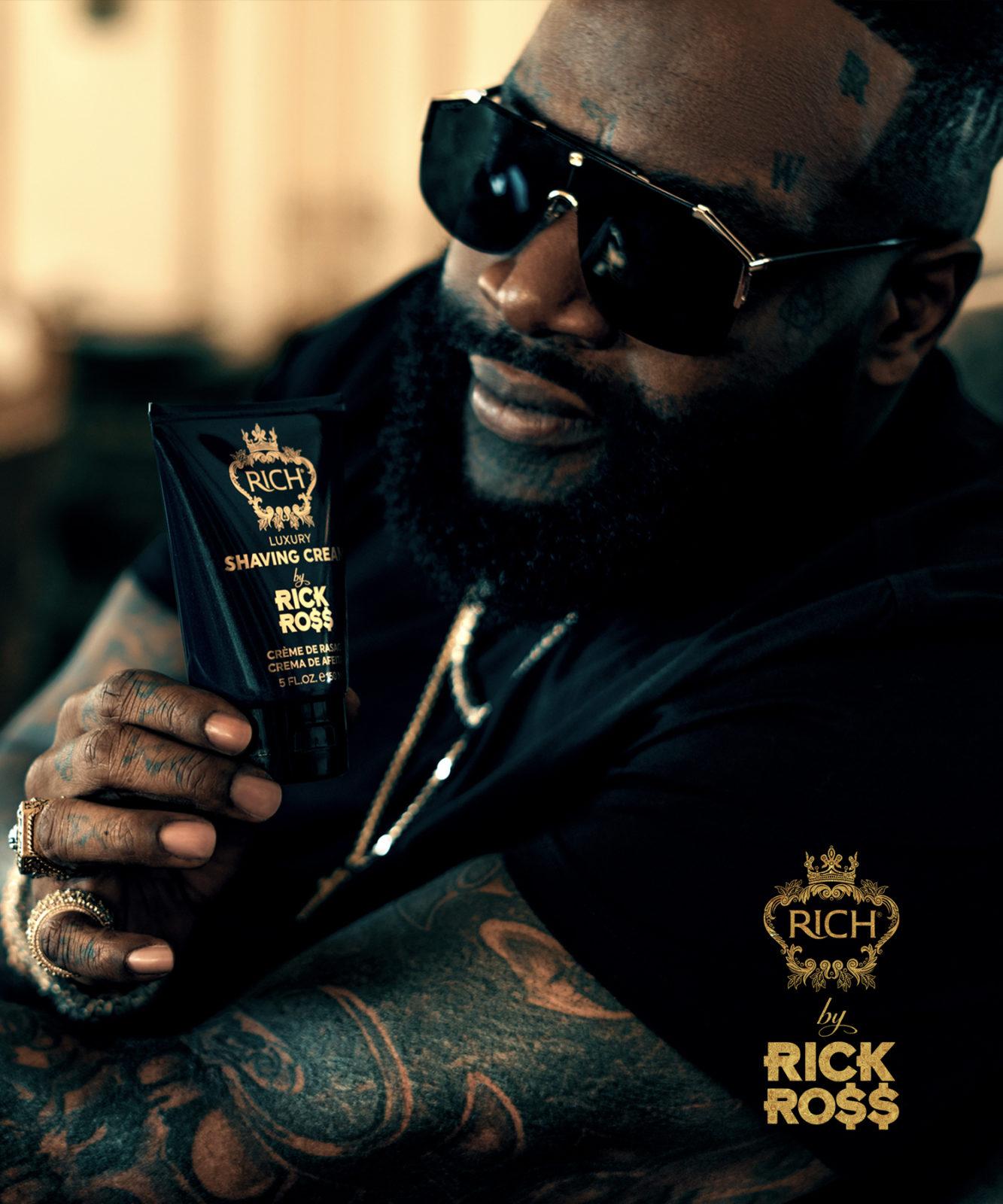 Tuotekuva: RICH by Rick Ross Luxury Shaving Cream -partavaahto (150 ml)