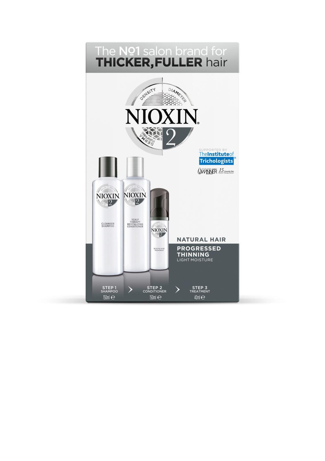 Tuotekuva: NIOXIN Trial Kit 2 -kokeilupakkaus