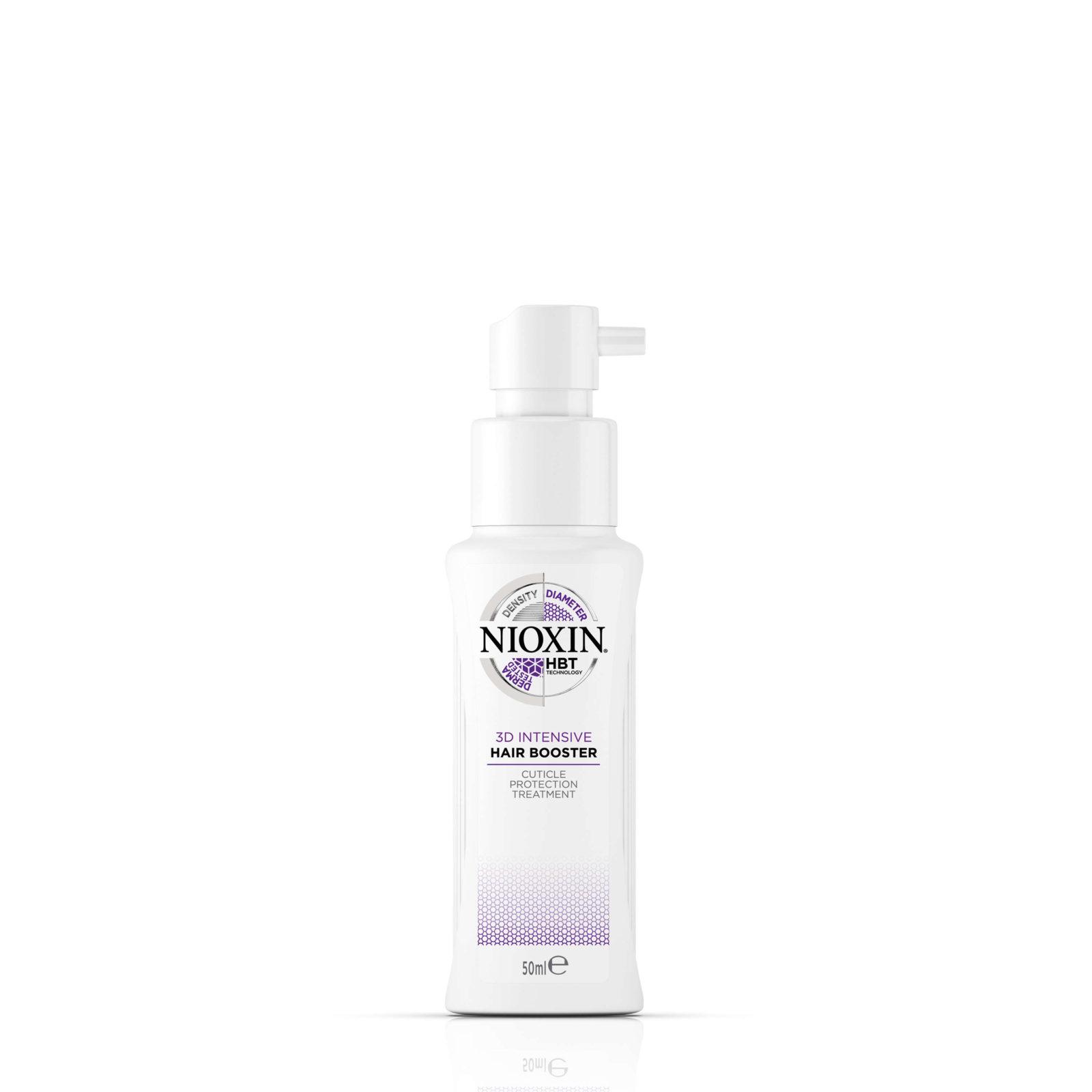 Tuotekuva: NIOXIN 3D Intensive Hair Booster (50ml) -tehohoito oheneville hiuksille