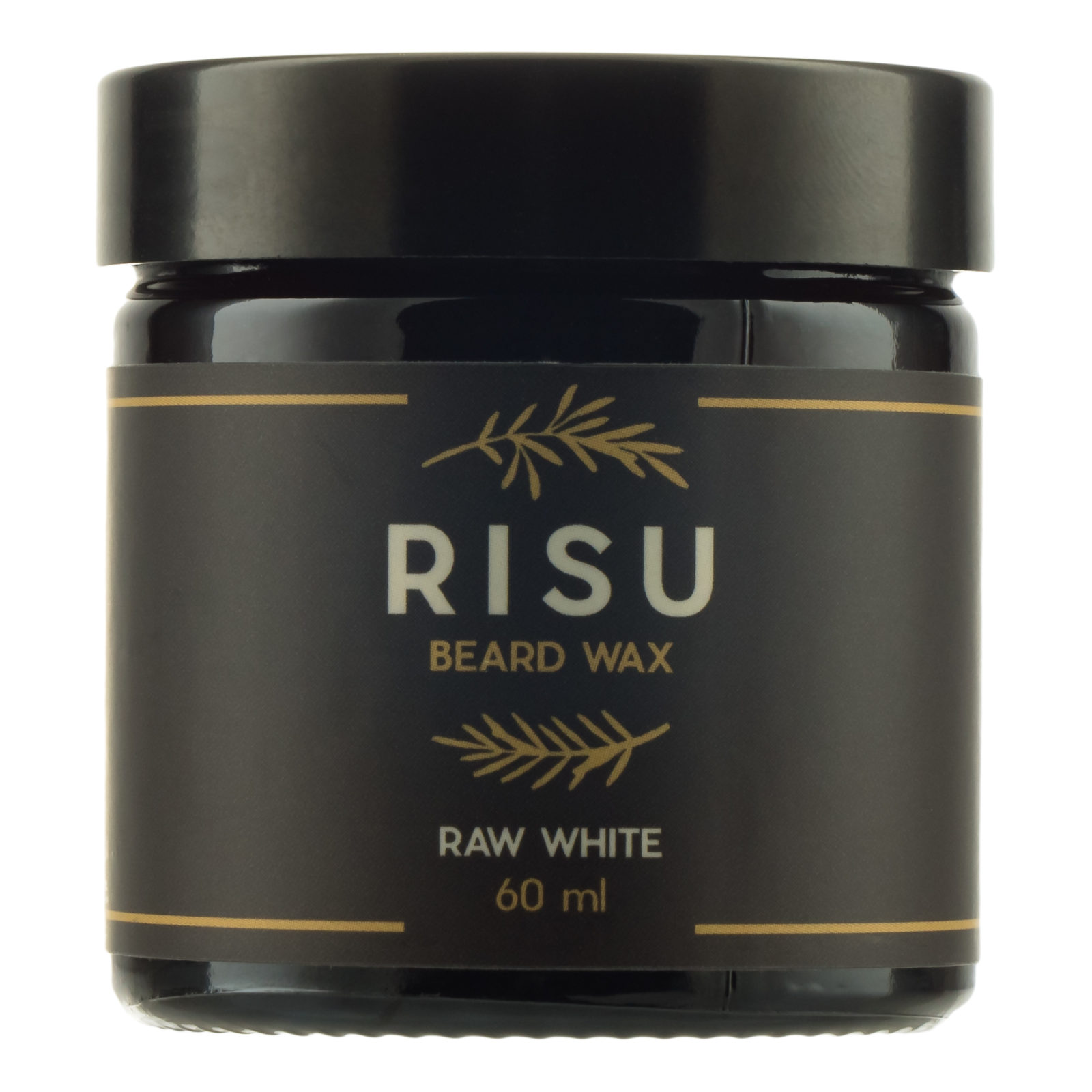 Tuotekuva: Risu Raw White Beard Wax (60 ml) -tuoksuton partavaha