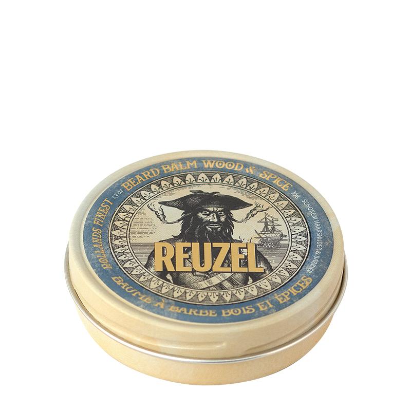 Tuotekuva: Reuzel Beard Balm Wood & Spice (35 g) – partavoide