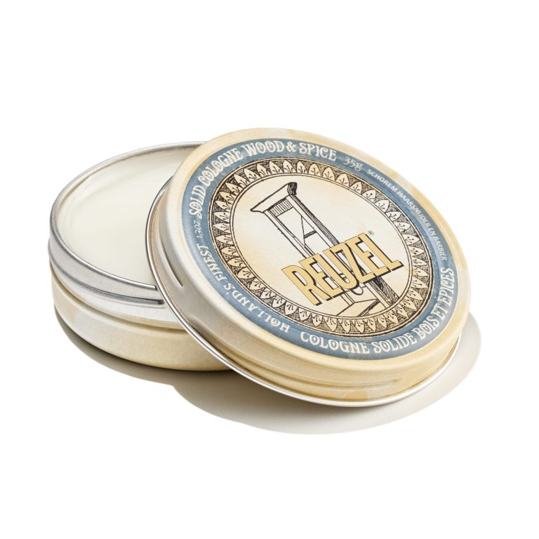 Tuotekuva: Reuzel Solid Cologne Wood & Spice (35 g) -tuoksuvoide