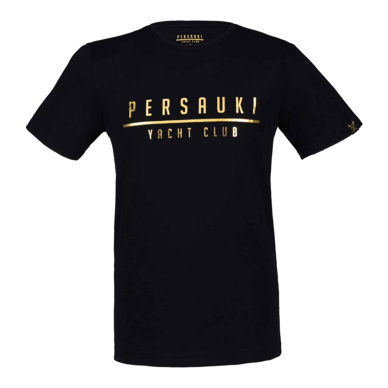 Tuotekuva: Persauki Yacht Club – GOLDEN t-paita