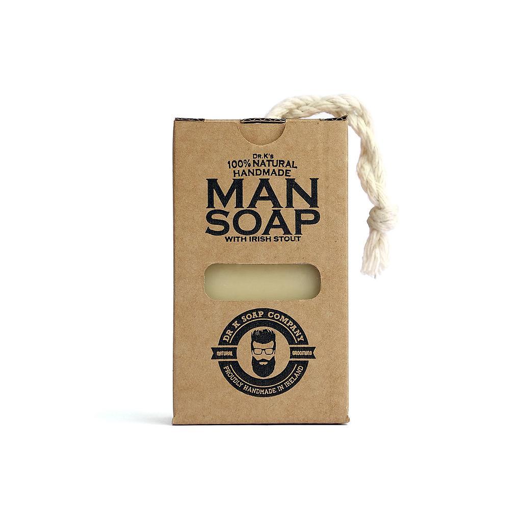 Tuotekuva: Dr K Man Soap -palasaippua (110g)
