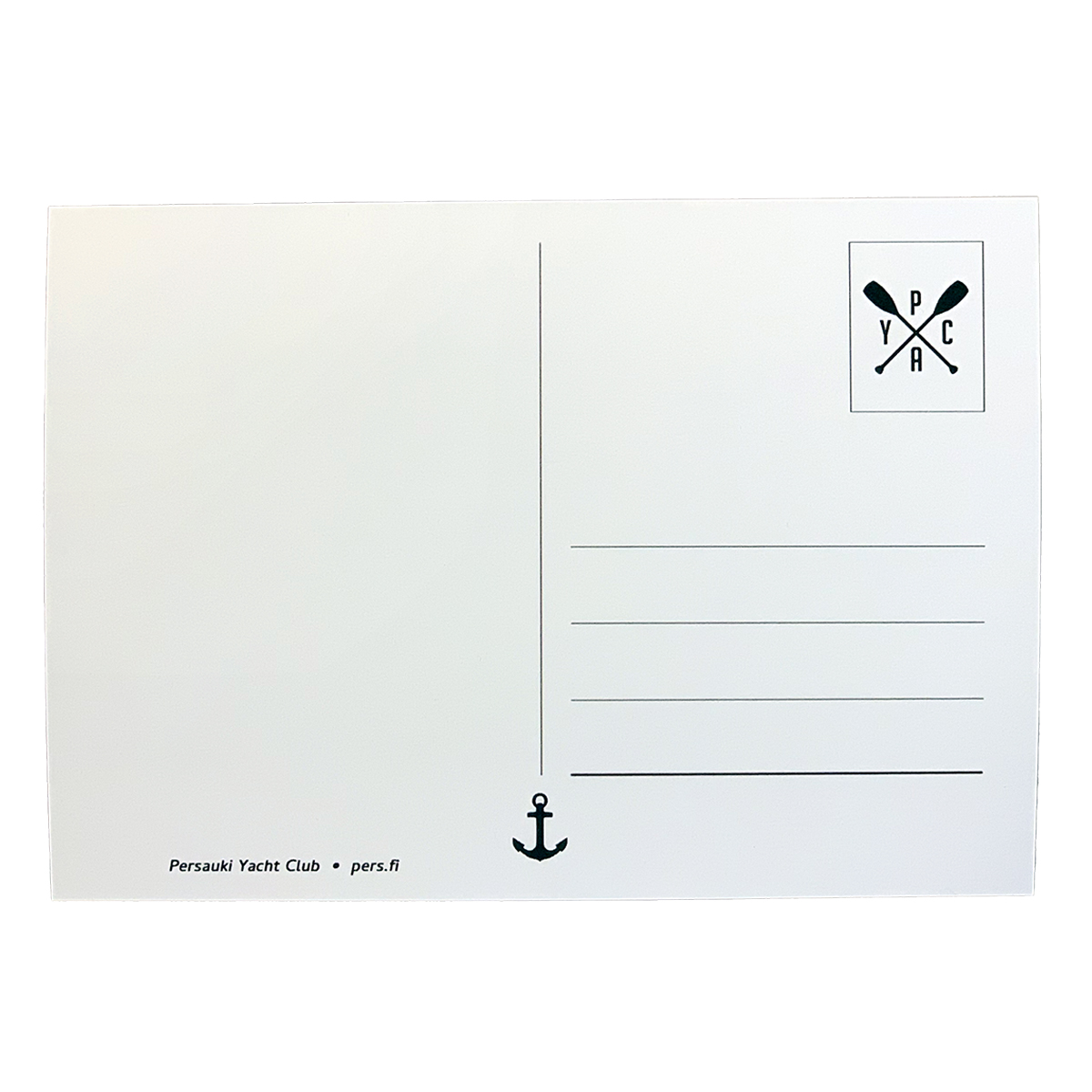 Tuotekuva: Persauki Yacht Club – Born to Be Persauki -kortti kaunolla