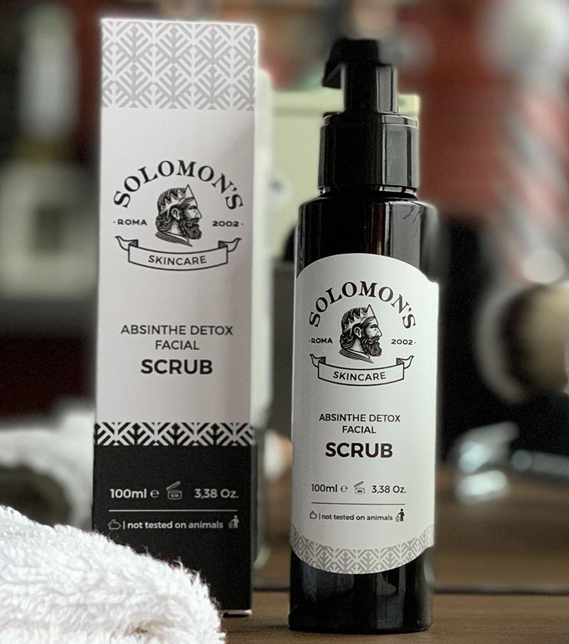 Tuotekuva: Solomon's Beard Absinthe Detox Facial Scrub -kuorintageeli (100 ml)