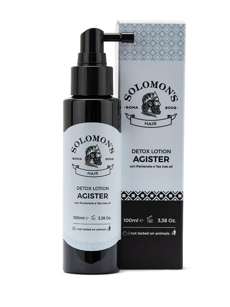 Tuotekuva: Solomon's Detox syväpuhdistava shampoo ja hoitoneste aloitussetti