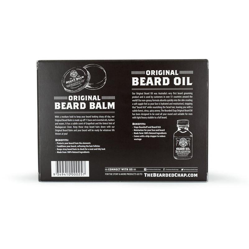 Tuotekuva: The Bearded Chap Essential Duo -partatuotesetti