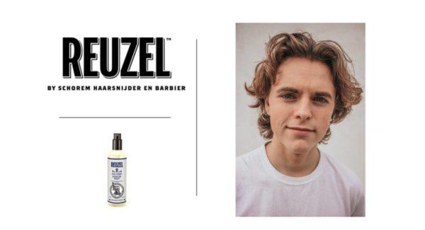 vinkit miesten pidempien hiusmallien muotoiluun reuzel clay spraylla
