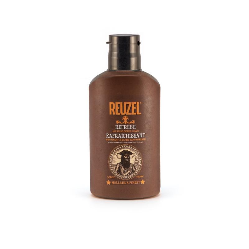 Tuotekuva: Reuzel No Rinse Beard Wash – parran raikastaja (100ml)