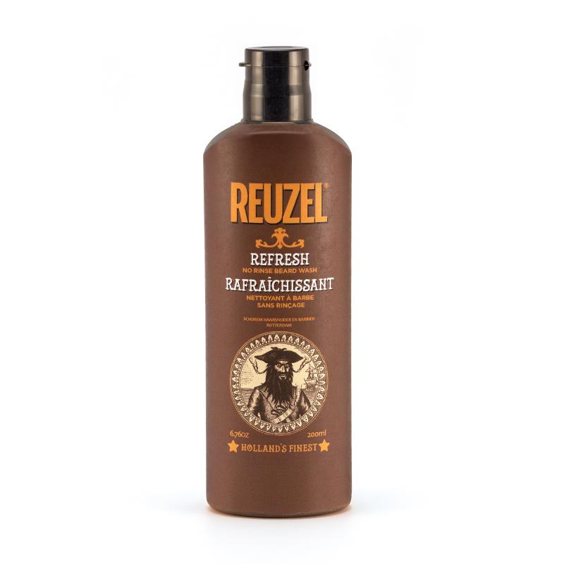Tuotekuva: Reuzel No Rinse Beard Wash – parran raikastaja (200ml)