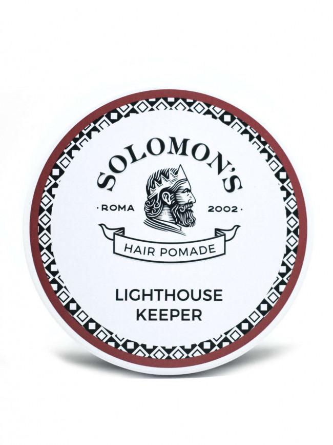 Tuotekuva: Solomon's Hair Heavy Hold Shine Pomade LIGHTHOUSE KEEPER (100ml)