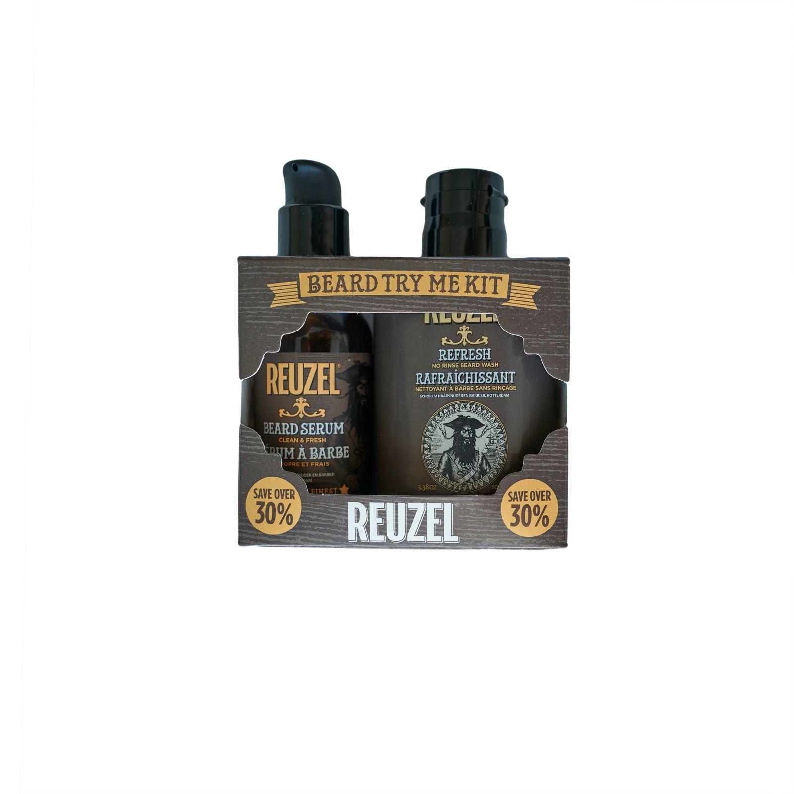 Tuotekuva: Reuzel Clean & Fresh Try Me Kit -Beard Wash & Serum