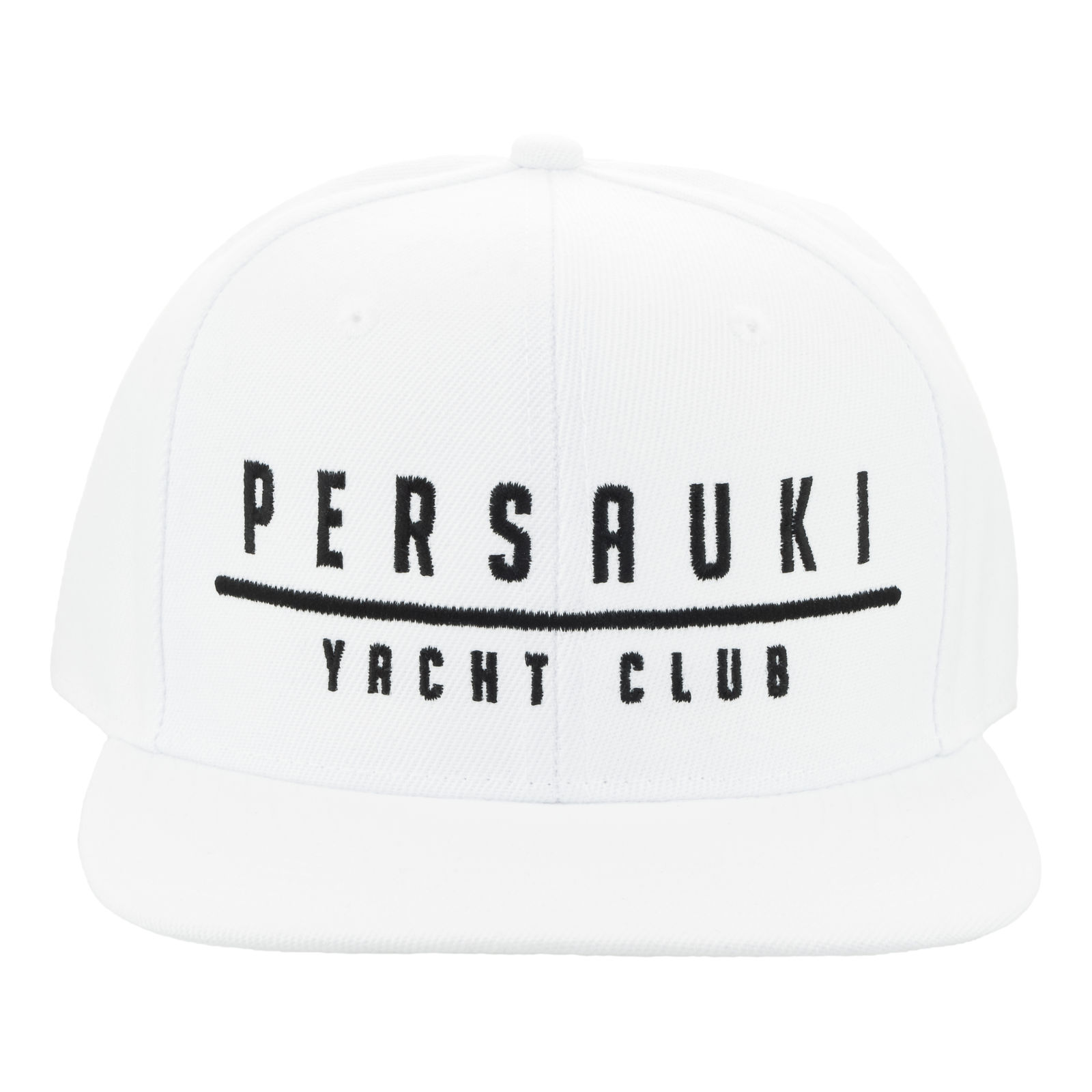 Tuotekuva: Persauki Yacht Club – White Snapback lippis