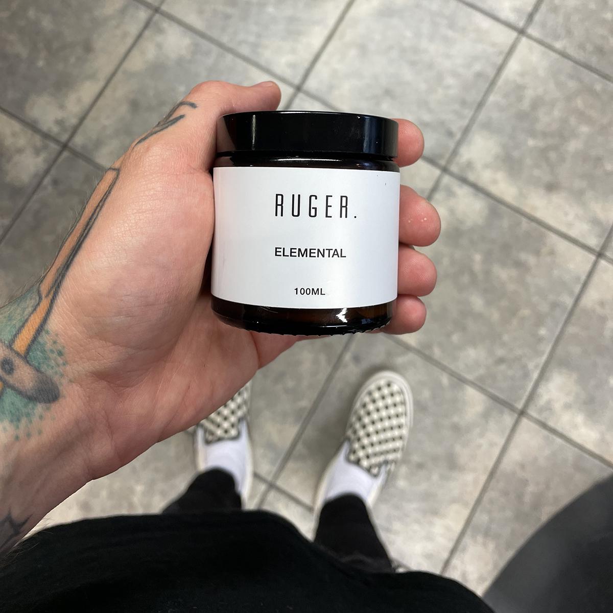 Tuotekuva: RUGER . Elemental Hair Cream -hiusvoide (100ml)