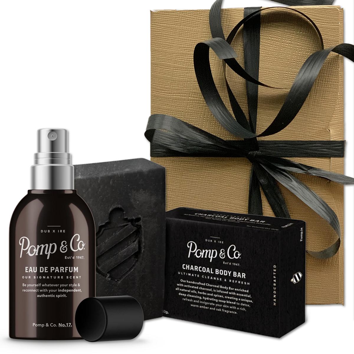 Tuotekuva: Pomp&Co. tuoksu & saippua lahjasetti
